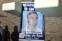 A 15 años de su desaparición, se realizó una nueva Marcha del Silencio por Raúl Tellechea