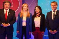 Mendoza elige gobernador: quiénes son los cuatro candidatos que buscan suceder a Cornejo
