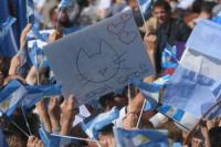 Macri en Mendoza: más de 5 mil personas se movilizan por la marcha