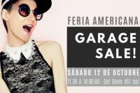 ¡Atención chicas! Se viene la Feria Americana Garage Sale, una gran oportunidad para renovar el placard