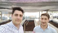 Tres hermanos revolucionan el mercado agrícola en San Juan