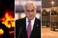 Caos en Chile: Piñera decretó el estado de emergencia en Santiago