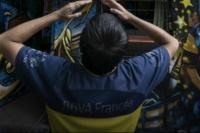 Viral: hincha de Boca dejó a su novia en la previa al Superclásico por cábala