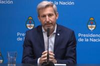 """Frigerio prometió un escrutinio """"más agil"""" y primeros resultados a las 21"""