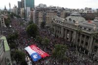Un millón de personas marcharon en Santiago de Chile