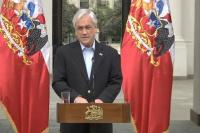 Chile: el presidente Sebastián Piñera pidió la renuncia a todos sus ministros