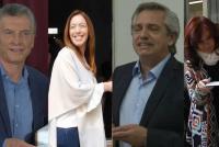 Argentina eligió y ellos hablaron: las mejores frases de Alberto, Cristina, Kicillof, Macri y Vidal