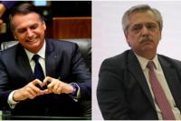 A pesar de las diferencias, Bolsonaro piensa moderar su discurso con Alberto Fernández