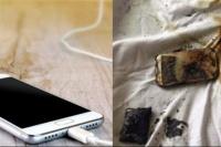 Un joven murió por cargar su celular mientras dormía