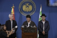 Evo Morales convocó a dialogar a la oposición, pero Mesa lo rechazó