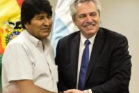Alberto Fernández quiere darle asilo a Evo Morales:
