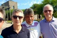 Golf y descanso, el fin de semana largo de Mauricio Macri en Córdoba
