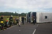 Tragedia en Ruta 2: el chofer del micro seguirá detenido