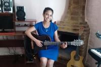 Ángeles Domínguez, la cantante sanjuanina que agradece a Dios el don por la música