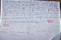 Una nena caucetera emocionó con su carta dedicada a los recolectores de basura