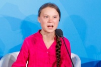 Greta Thunberg le pidió a líderes políticos que actúen con urgencia