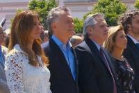 A dos días del traspaso, Mauricio Macri y Alberto Fernández compartieron una misa en Luján