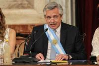 Luego del discurso de Alberto Fernández, baja el dólar blue y caen bonos y acciones argentinas en Wall Street