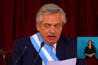 Lasfrases más importantes de Alberto Fernández en su discurso ante la Asamblea Legislativa