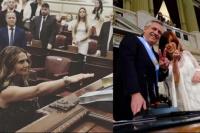 Amalia Granata, furiosa con los festejos de la asunción presidencial: