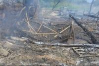 Una familia sarmientina perdió todo en un incendio