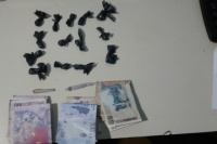 Un gendarme cayó preso por circular con marihuana y cocaína