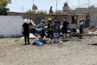 Una anciana cocinaba y provocó un terrible incendio en su vivienda