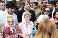 Evo Morales y su estadía en Argentina, estuvo con Madres de Plaza de Mayo