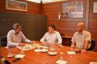 Carlos Astudillo recibió a la Cámara Minera de San Juan
