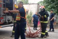 Bomberos sofocaron un incendio en la casa de una anciana de 83 años