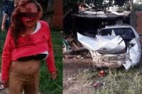 Una embarazada robó un auto, atropelló y mató a un hombre