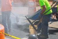 Un obrero se quemó con alquitrán y tuvo que ser hospitalizado
