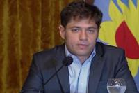 Kicillof aclaró que el gobierno no está de acuerdo con las domiciliarias para condenados por delitos graves