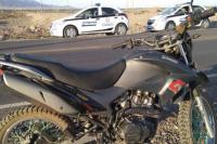 Chimbas: fue golpeado por dos ladrones que intentaron robarle su moto