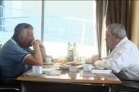 Gioja se reunió con el presidente de Boca