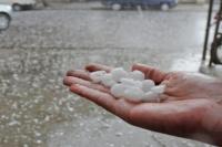 Alertan por tormentas fuertes con posible caída de granizo