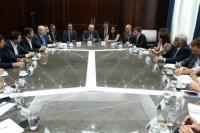 El ministro de Producción se reunió con Matias Kulfas