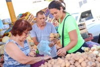 Esta semana bajaron los precios en la Feria de Capital