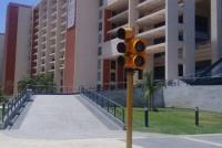 Capital inaugurará los primeros semáforos peatonales y cicloviales