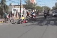 Un perro fue protagonista en la segunda etapa por ocasionar la caída de ciclistas