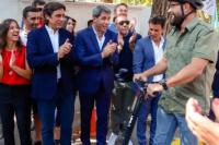 Histórico: llegaron a San Juan las ciclovías