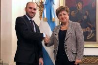 La directora del FMI respalda la economía de Argentina