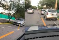 No aprendemos más: automovilistas estacionaron en la bicisenda recientemente inaugurada