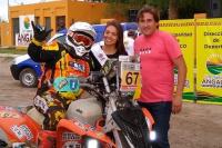 Ya se vive en Angaco la primera fecha del South American Rally Race