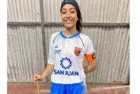 Maia Navas, la sanjuanina que busca triunfar en el hockey mendocino