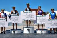 Facundo Medard y Moira Miranda los ganadores de la 4º edición del Triatlón del Sol