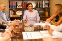 Capital: Baistrocchi revisó junto a su equipo la agenda mensual y anual