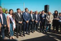 San Martín: Uñac entregó equipos de cosecha asistida y de riego