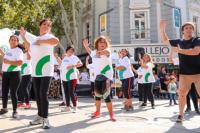Baile ATR: Capital expuso sus talleres comunitarios en la peatonal