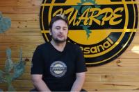 Cerveza Huarpe: elaborada con manos sarmientinas
